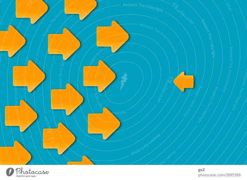 Einer gegen Alle Zeichen Pfeil groß klein viele Willensstärke Macht Mut Übermut Aggression Entschlossenheit Frustration bedrohlich Gesellschaft (Soziologie)