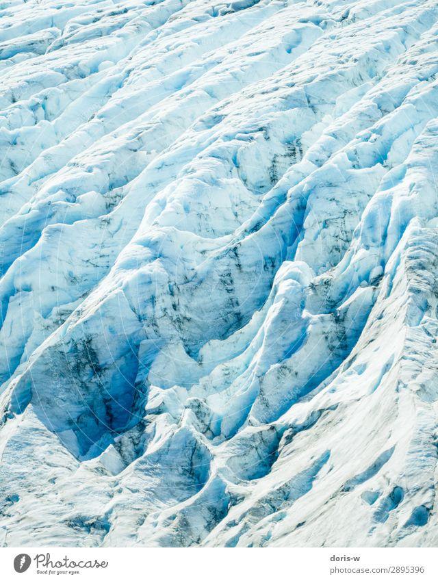 Packeis Umwelt Natur Landschaft Urelemente Winter Klima Klimawandel Schönes Wetter Eis Frost Schnee Gletscher alt ästhetisch blau Abenteuer Gletscherspalte kalt