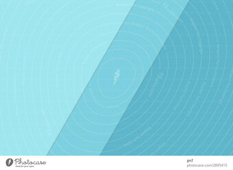 Grafischer Hintergrund 9 Stil Design Freizeit & Hobby Basteln Papier Dekoration & Verzierung Linie Strukturen & Formen ästhetisch außergewöhnlich blau