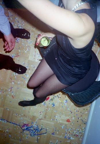 Verlorene Übersicht Lifestyle Stil Freude Glück Nachtleben Entertainment Party Veranstaltung Musik Club Disco ausgehen Feste & Feiern Flirten clubbing Mensch