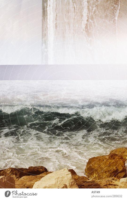 Kleine Mängel Ferien & Urlaub & Reisen Abenteuer Ferne Freiheit Meer Insel Wellen Natur Küste Stein Erholung trendy schön kaputt retro trashig Fernweh exotisch