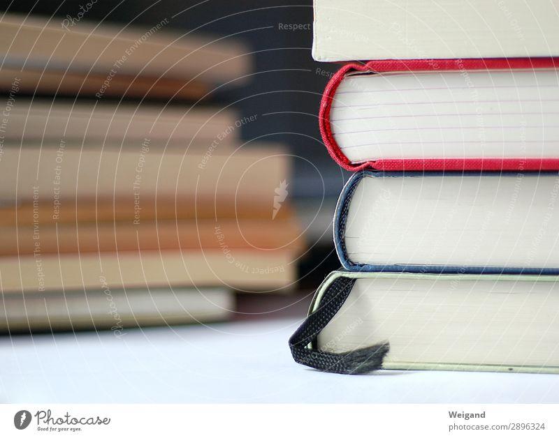 Bücherstapel elegant lernen Buch Papier lesen Erwachsenenbildung schreiben Bildung Wissenschaften Bibliothek Schreibwaren Literatur Bibel