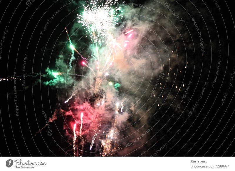 Brave New World Farbe dunkel Feste & Feiern Party Geburtstag Beginn Wandel & Veränderung Weltall Silvester u. Neujahr Rauch Veranstaltung Jahrmarkt Abheben Jahr Feuerwerk Entertainment