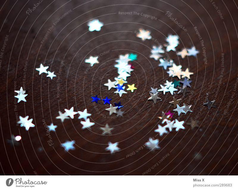 Sternenzauber Weihnachten & Advent glänzend leuchten Stern (Symbol) Weihnachtsdekoration Tischdekoration