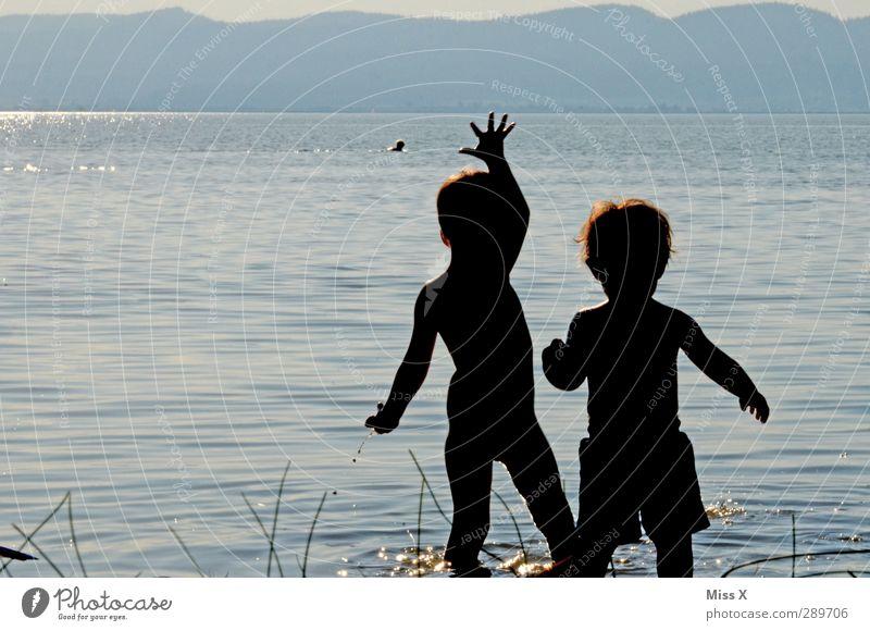 Frohe Weihnacht ;-) Mensch Kind Ferien & Urlaub & Reisen Sommer Sonne Freude Strand Gefühle Spielen Küste See Schwimmen & Baden Kindheit Fröhlichkeit Ausflug