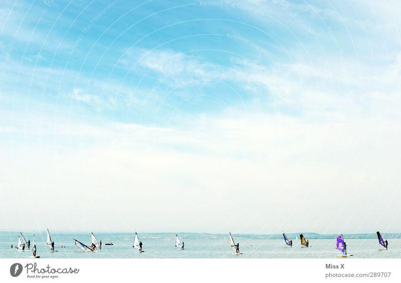 Frohe Weihnacht ;-) Ferien & Urlaub & Reisen Tourismus Sommer Sommerurlaub Sonne Strand Meer Wellen Sport Wassersport Mensch Menschenmenge Himmel See