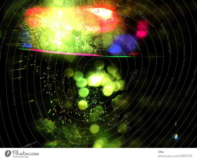 Tingle Lifestyle elegant Stil Design Glück Kunst Tanzen Party Musik Glas Wasser glänzend leuchten außergewöhnlich Coolness mehrfarbig grün violett rot schwarz