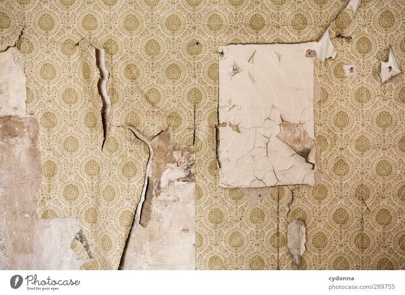 Bildfreiraum Einsamkeit ruhig Wand Leben Mauer Stil träumen Raum Wohnung Design Häusliches Leben Dekoration & Verzierung ästhetisch planen Wandel & Veränderung