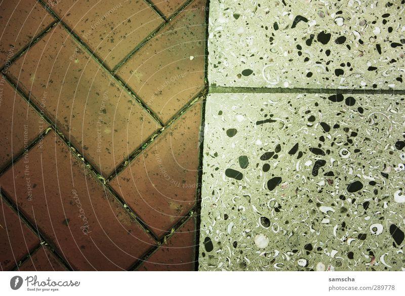 halbhalb alt Stadt nackt kalt Stein Hintergrundbild Linie dreckig Bodenbelag fest Grenze Terrasse Hälfte Handwerker Oberfläche
