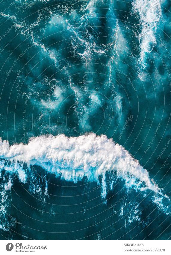 Ferien & Urlaub & Reisen Natur schön Wasser Meer Strand Gesundheit Lifestyle Leben natürlich Tourismus Freiheit Erde oben Wellen einzigartig