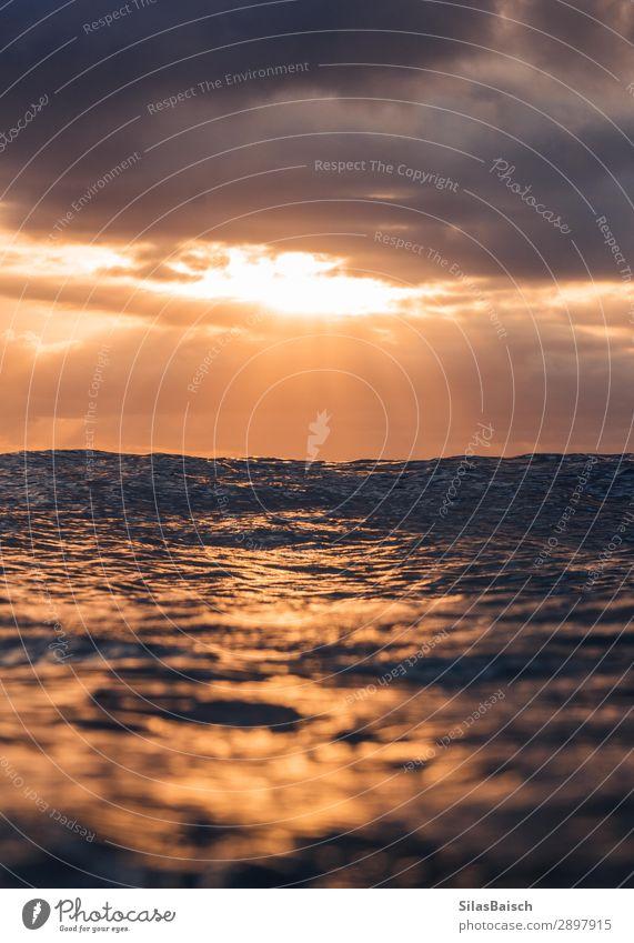 Sonnenaufgang über dem Meer Lifestyle Wellness Ferien & Urlaub & Reisen Tourismus Ausflug Abenteuer Ferne Städtereise Kreuzfahrt Safari Expedition Sommerurlaub