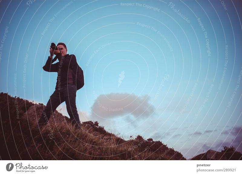Loch Skeen Ferien & Urlaub & Reisen Abenteuer Freiheit Fotograf Fotografie Mensch maskulin Junger Mann Jugendliche Erwachsene Körper 1 18-30 Jahre Umwelt Natur