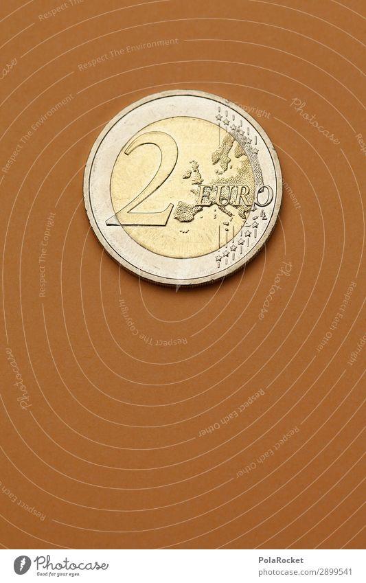 #A# Zweier Kunst ästhetisch Geldmünzen 2 Euro Europa Geldgeschenk Geldkapital Geldverkehr Bargeld Zins Kapitalismus Kapitalanlage Farbfoto Gedeckte Farben