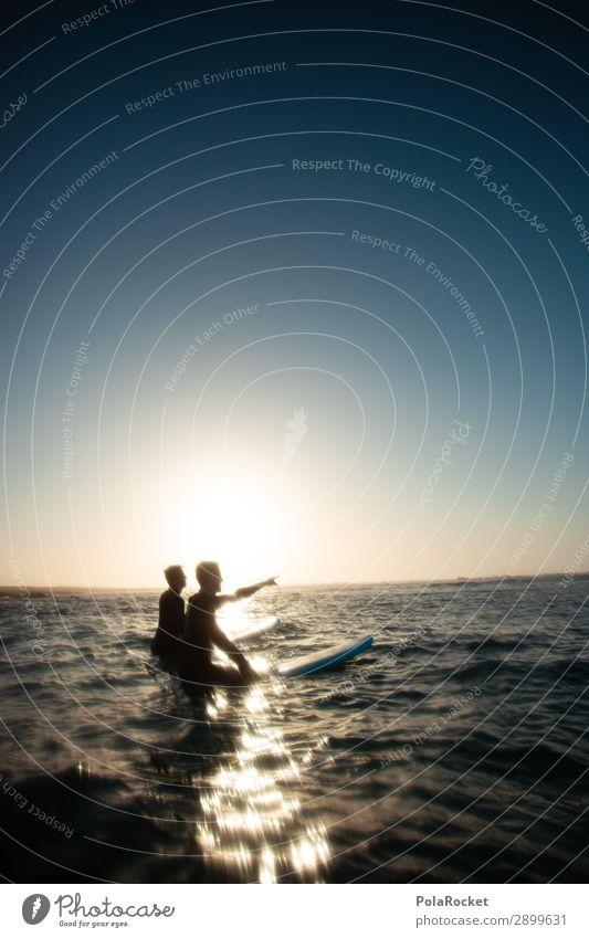 #ATE# out there Mensch Leben Kunst Freiheit Freundschaft ästhetisch Idylle genießen Zukunft Momentaufnahme Surfen Surfer Surfbrett Zukunftsorientiert Surfschule