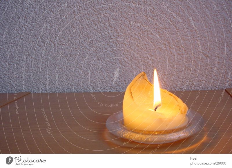 Kerze ruhig Erholung Wärme Brand Romantik Dinge gemütlich