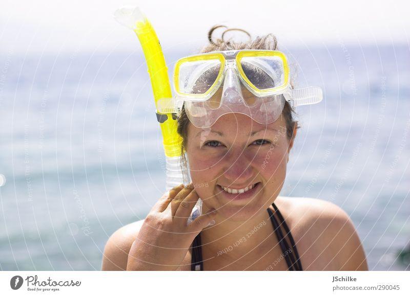 snorkeling Mensch Jugendliche Ferien & Urlaub & Reisen schön Sommer Meer Erholung Erwachsene Junge Frau Ferne feminin Glück 18-30 Jahre Schwimmen & Baden