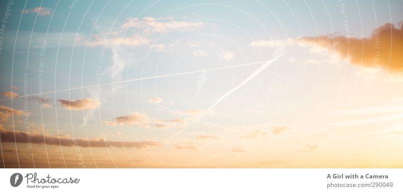 off to new horizons - all the best for 2013 Himmel Natur schön Sommer Sonne Wolken Umwelt Schönes Wetter dezent beruhigend nur Himmel
