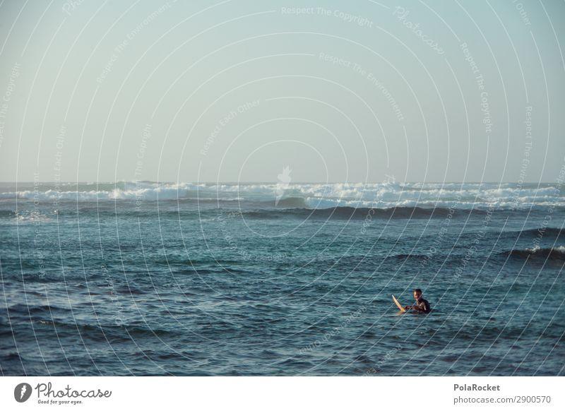 #AE# long way out Mann Meer Kunst maskulin ästhetisch Surfen Wassersport Surfer Wellengang Surfbrett Extremsport Surfschule