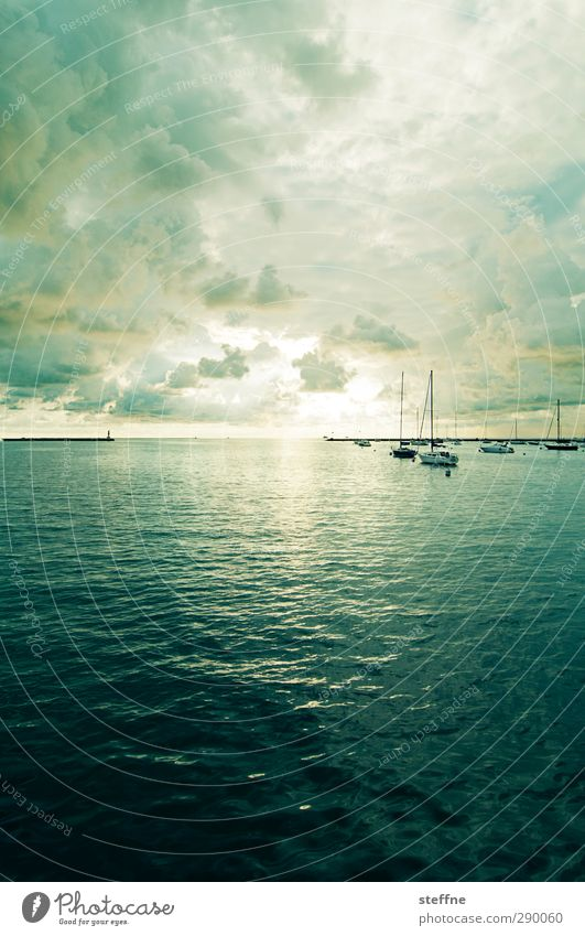 Good Morning Wasser Himmel Wolken Sonnenaufgang Sonnenuntergang Sonnenlicht Schönes Wetter Wellen Küste Seeufer Meer Michigan See Chicago Schifffahrt Bootsfahrt