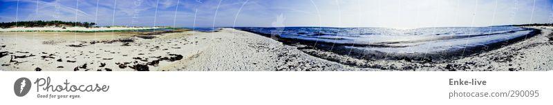 Taka-Tuka-Land Himmel Natur Ferien & Urlaub & Reisen Sonne Meer Einsamkeit Strand Umwelt Ferne Freiheit Küste Sand Stimmung Zufriedenheit Tourismus