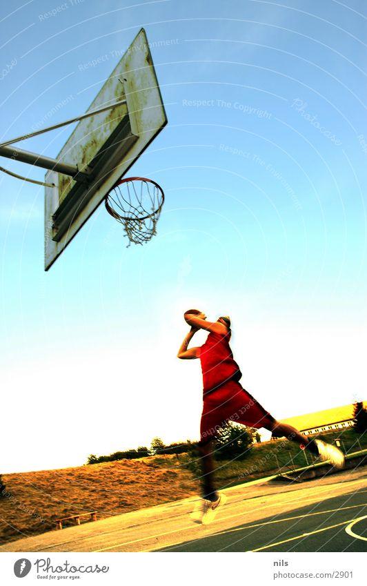 Slam Dunk Sport springen Ball Korb Basketball Basketballkorb