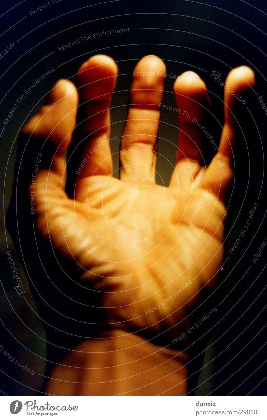 myHand Kraft Finger obskur Falte Körperteile