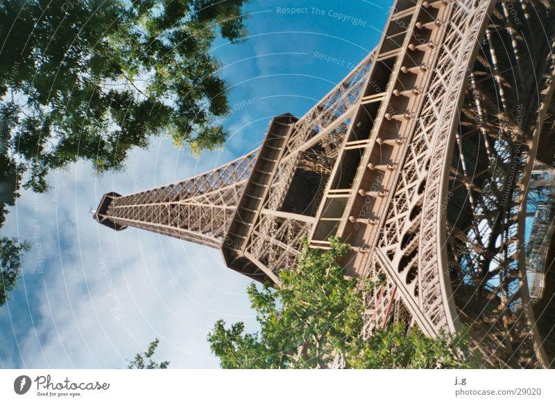 Eifelturm Metall Architektur Turm Paris Frankreich Wahrzeichen Eisen Symbole & Metaphern Tour d'Eiffel