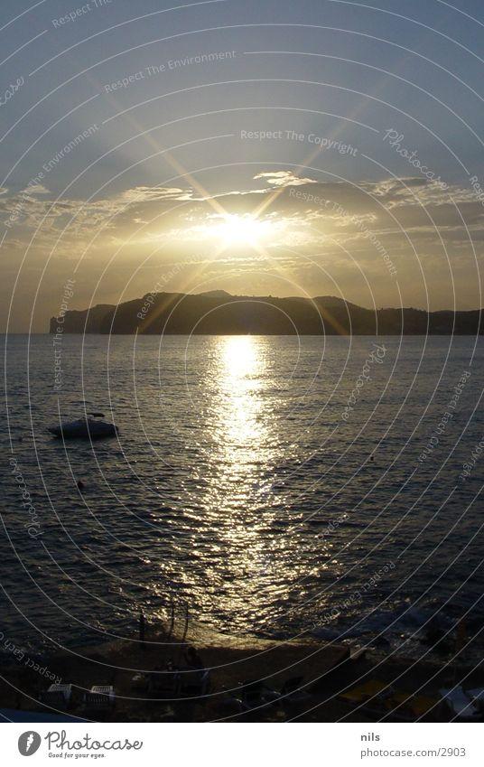 Mallorca Sunrise Sonne Meer Küste Europa Mallorca Hexe Sonnenuntergang