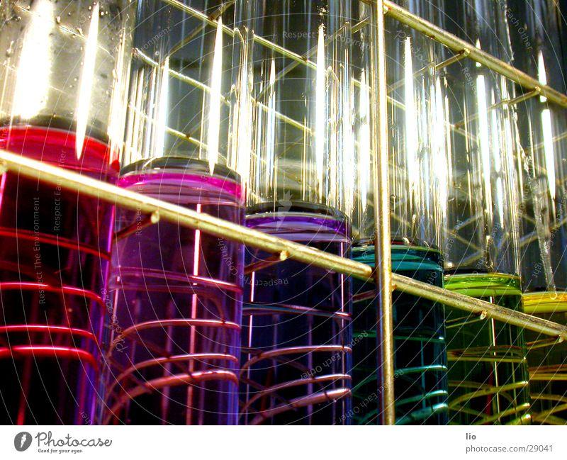 regenbogen Reagenzglas Experiment Wissenschaften Labor regenbogenfarben mehrfarbig ph-Werte Chemie Versuch Glas