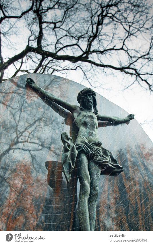OMG Einsamkeit Architektur Traurigkeit Berlin Tod Kunst Kirche Trauer Zukunftsangst gruselig hängen Skulptur Dom Kunstwerk Erschöpfung Friedhof