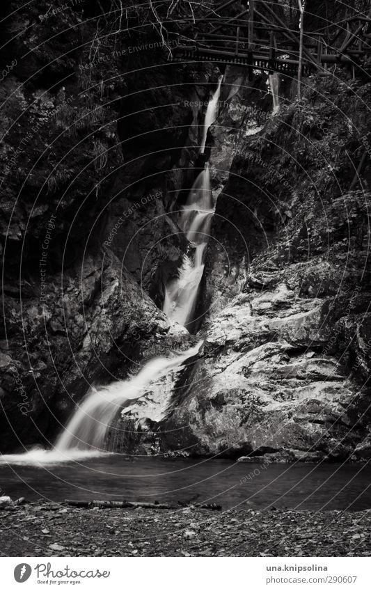 kesselfallklamm Natur Landschaft Felsen Schlucht Felsenschlucht Kesselfallklamm Fluss Wasserfall fallen wandern dunkel frisch nass natürlich wild Idylle Ferne