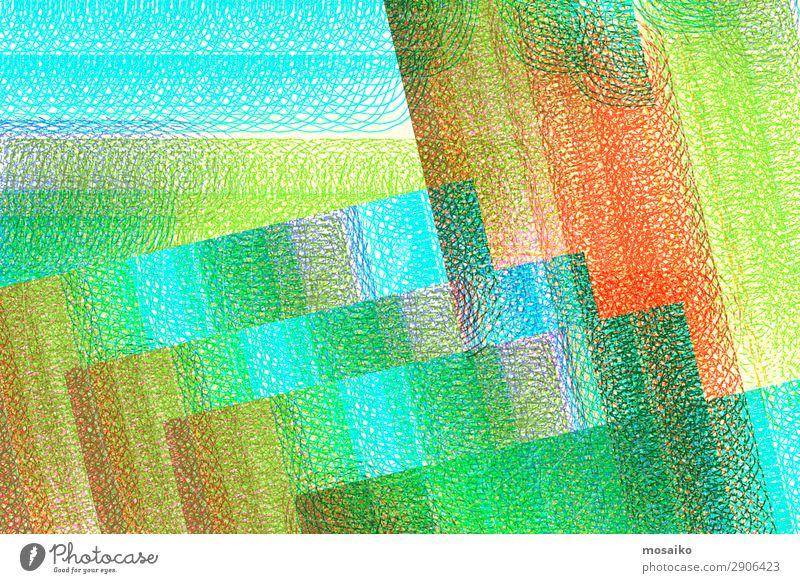 abstraktes Design - bunte Spiralen - grafische Formen Lifestyle elegant Stil exotisch Kunst Kunstwerk Idee Kommunizieren komplex Konzentration Kraft Kreativität