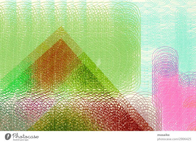 Farbenfroh - Mustermix, abstraktes Design Lifestyle elegant Stil Freude Entertainment Party Feste & Feiern Kunst Kunstwerk ästhetisch Kommunizieren komplex