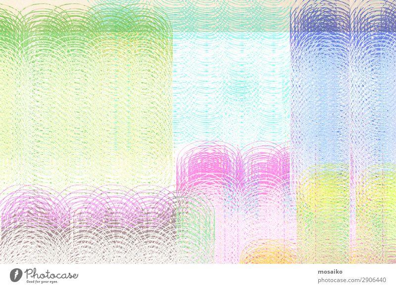 Farbenfroh - Mustermix, abstraktes Design Kunst Kunstwerk bauen Freizeit & Hobby Freude Frieden Identität Kommunizieren Konzentration Frequenz Verbindung
