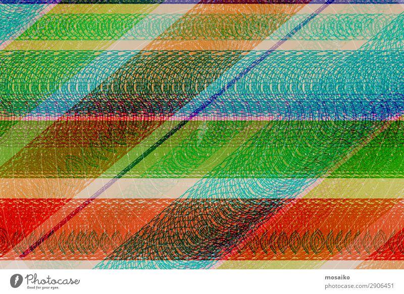 buntes Spiraldesign - handgezeichnet Lifestyle Reichtum elegant Stil Design exotisch Freude Glück Nachtleben Entertainment Party Veranstaltung Musik