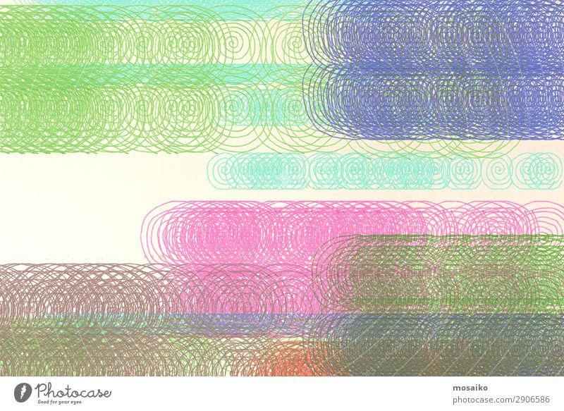 bunter abstrakter Hintergrund - Spielfarben - Mustermix Lifestyle elegant Stil Design exotisch Freude Kunst Künstler Kunstwerk Gemälde Ornament ästhetisch