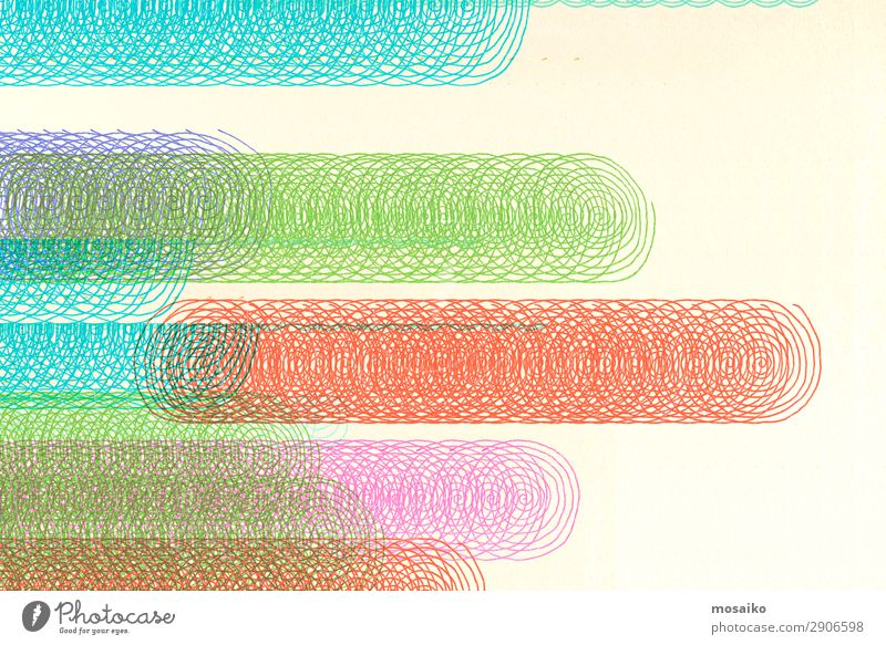 buntes Spiraldesign - grafischer Hintergrund Lifestyle elegant Stil Design exotisch Freude Entertainment Party Veranstaltung Musik Club Disco Diskjockey