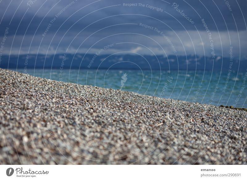 Seesicht Himmel Natur blau grün Wasser Winter Wolken Strand kalt Küste Stein Luft Wetter Wellen Wind