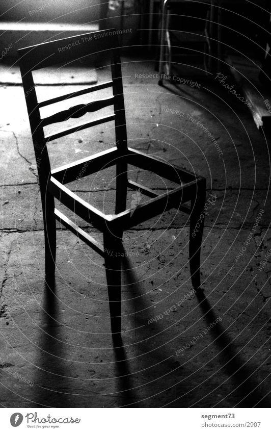 stuhl2 Dinge Stuhl Schwarzweißfoto