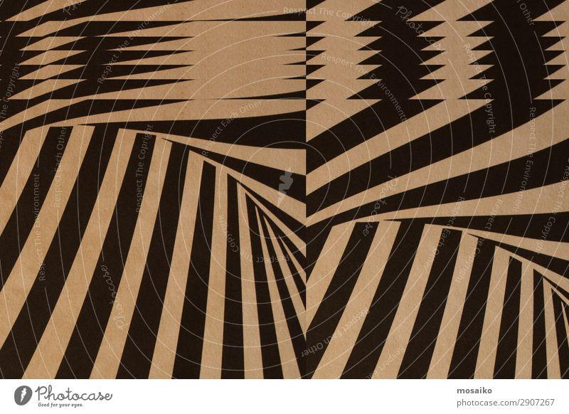 schwarze Streifen auf Papierstruktur - Hintergrundgestaltung Lifestyle elegant Stil Design Dekoration & Verzierung Tapete Feste & Feiern Kunst Kunstwerk Zeichen