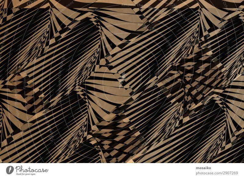schwarze Grafik auf Papierstruktur - Hintergrundgestaltung Lifestyle Reichtum elegant Stil Design exotisch Freude Dekoration & Verzierung Tapete Entertainment