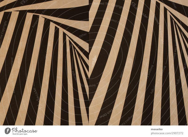 schwarze Streifen auf Papierstruktur - Hintergrundgestaltung Lifestyle Stil Design exotisch Freude Dekoration & Verzierung Tapete Nachtleben Entertainment Party