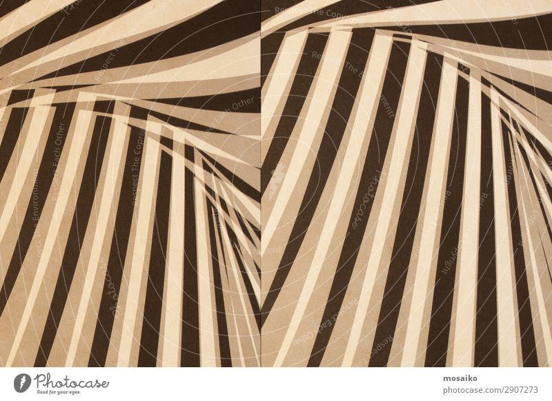 Papierstruktur - Hintergrundgestaltung Lifestyle Stil Design exotisch Dekoration & Verzierung Tapete Kunst Kunstwerk retro gelb weiß ästhetisch bizarr