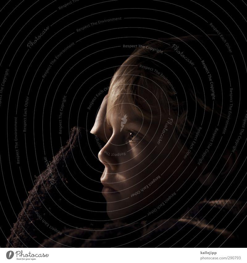 fantasimo Mensch Kind Junge Kindheit Leben Haut Kopf Haare & Frisuren Gesicht Auge Nase Mund Lippen 1 3-8 Jahre Blick kuschlig träumen Fantasia Phantasie