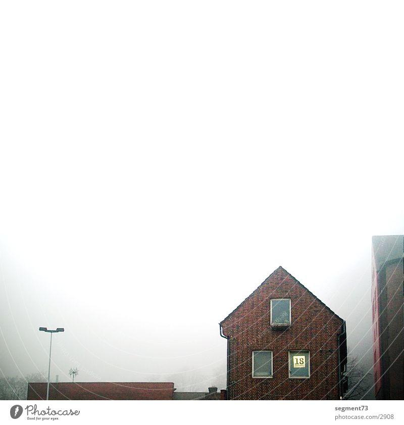 schanze 18 Gebäude Architektur Nebel Morgen