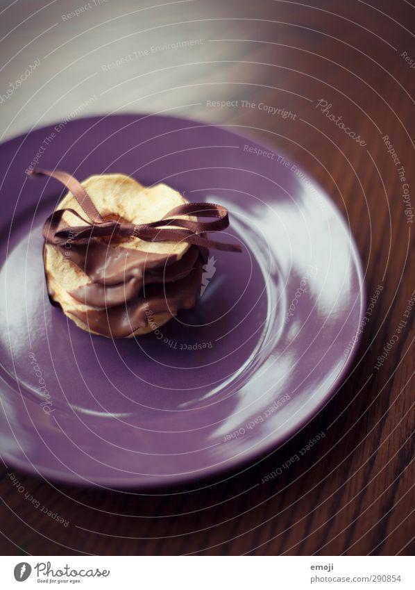 für dich Dessert Süßwaren Schokolade Ernährung Bioprodukte Vegetarische Ernährung Slowfood Fingerfood Teller lecker süß Trockenfrüchte Schleife verpackt