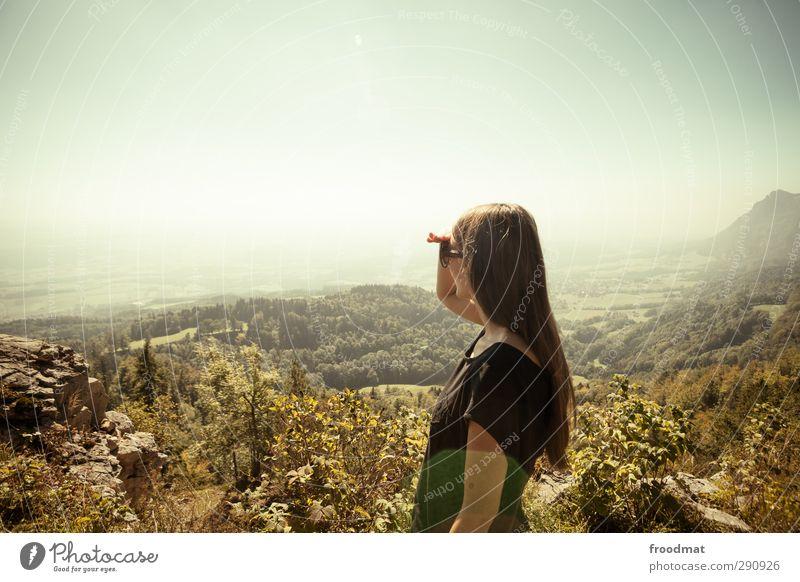 jahresrückblick Natur Ferien & Urlaub & Reisen Sommer Sonne Erholung Ferne Umwelt Berge u. Gebirge Herbst Haare & Frisuren Freiheit Horizont träumen Nebel
