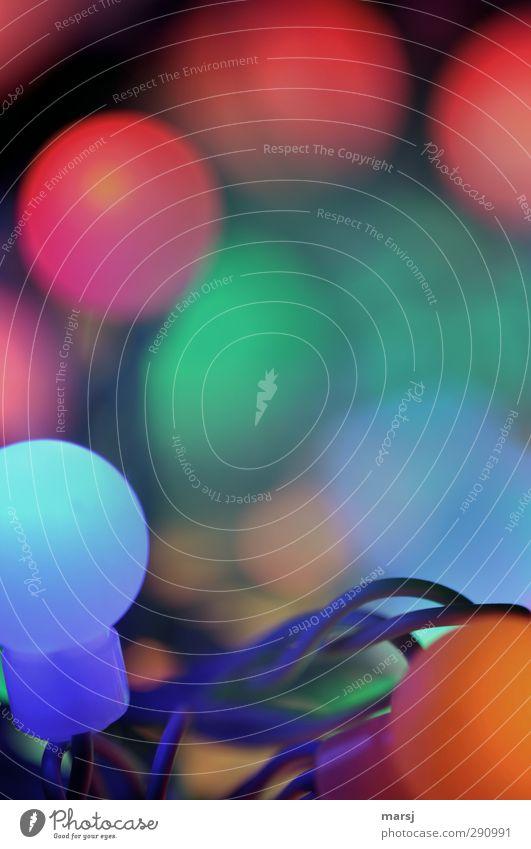 Ganz schön bunt Erholung ruhig Dekoration & Verzierung Lampe Beleuchtungselement Nachtleben Partybeleuchtung Kitsch Krimskrams Kugel leuchten Fröhlichkeit