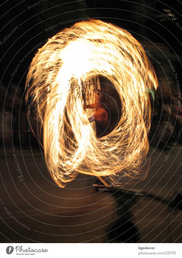 Feuerkünstler Mensch dunkel Feste & Feiern Brand Künstler Gaukler