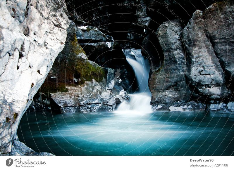 Ursprung Natur Wasser Umwelt Felsen Zufriedenheit Abenteuer Fluss Neugier Wasserfall Weisheit